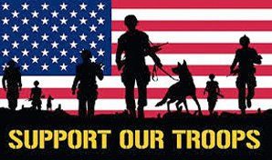 Logo of Support Our Troops